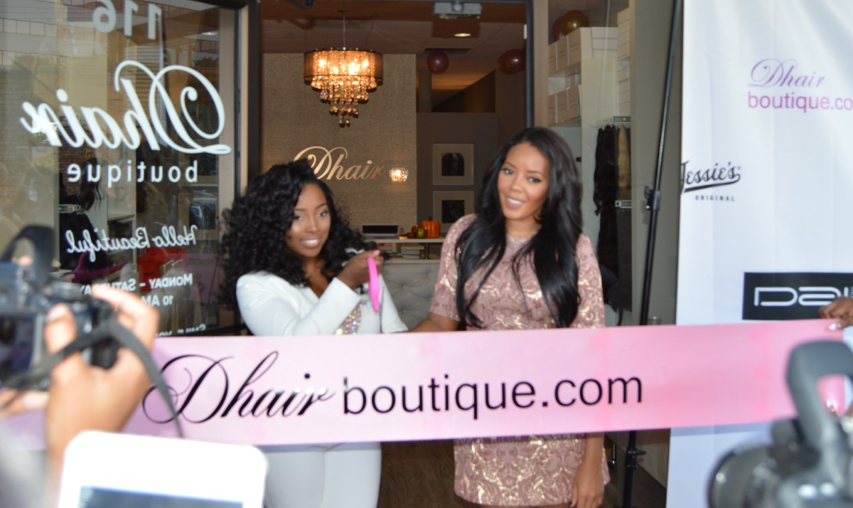 Exclusive Interview Angela Simmons For D Hair Boutique Kierstin