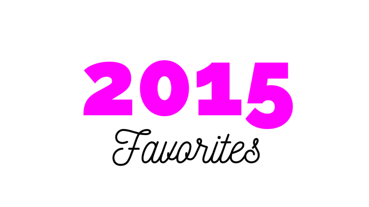Favorite Products of2015