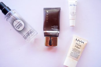 Long hours of wear along with the summer heat can take a toll on your makeup. Here are the products you need to make sure your face is flawless all day.